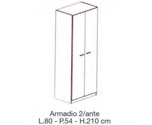 CAMERETTA COMPONIBILE PIPPO - Mobili Franco Perri